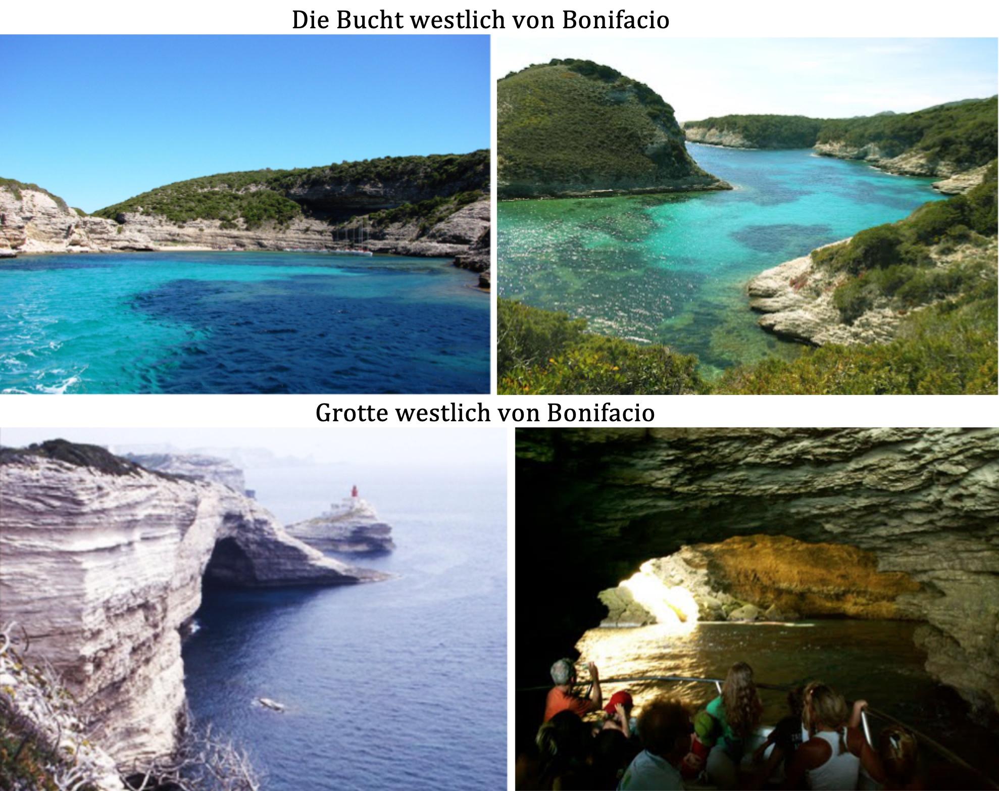Bucht Grotte Bonifacio