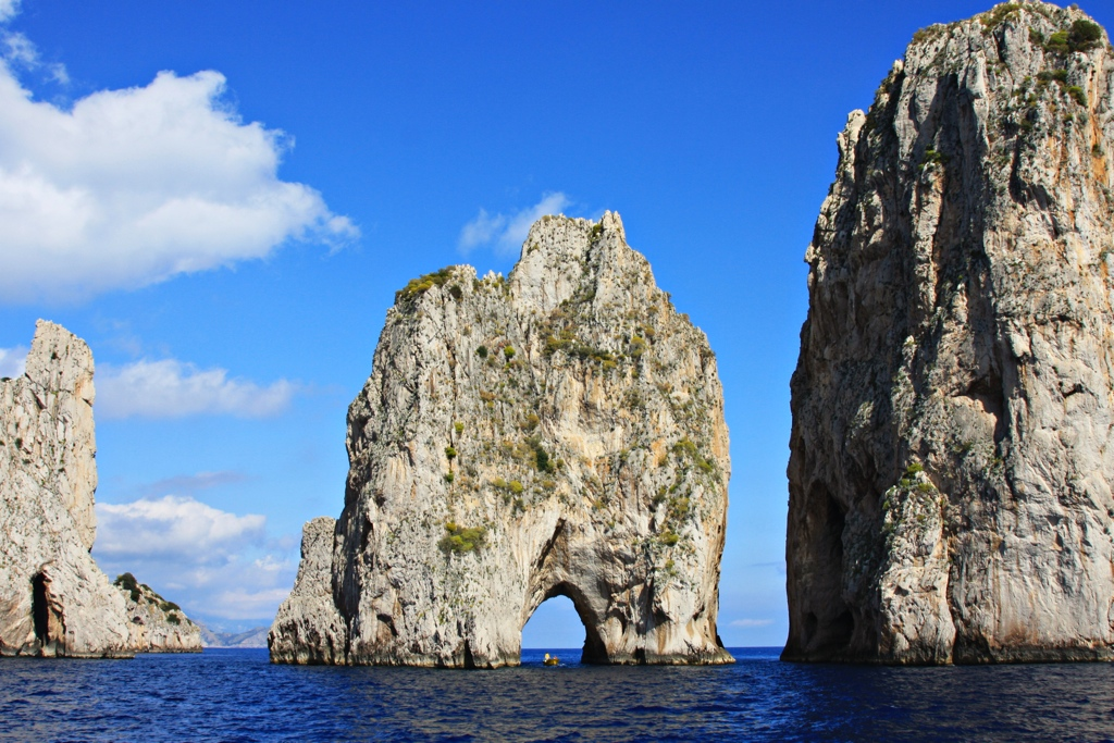 Felsen vor Capri