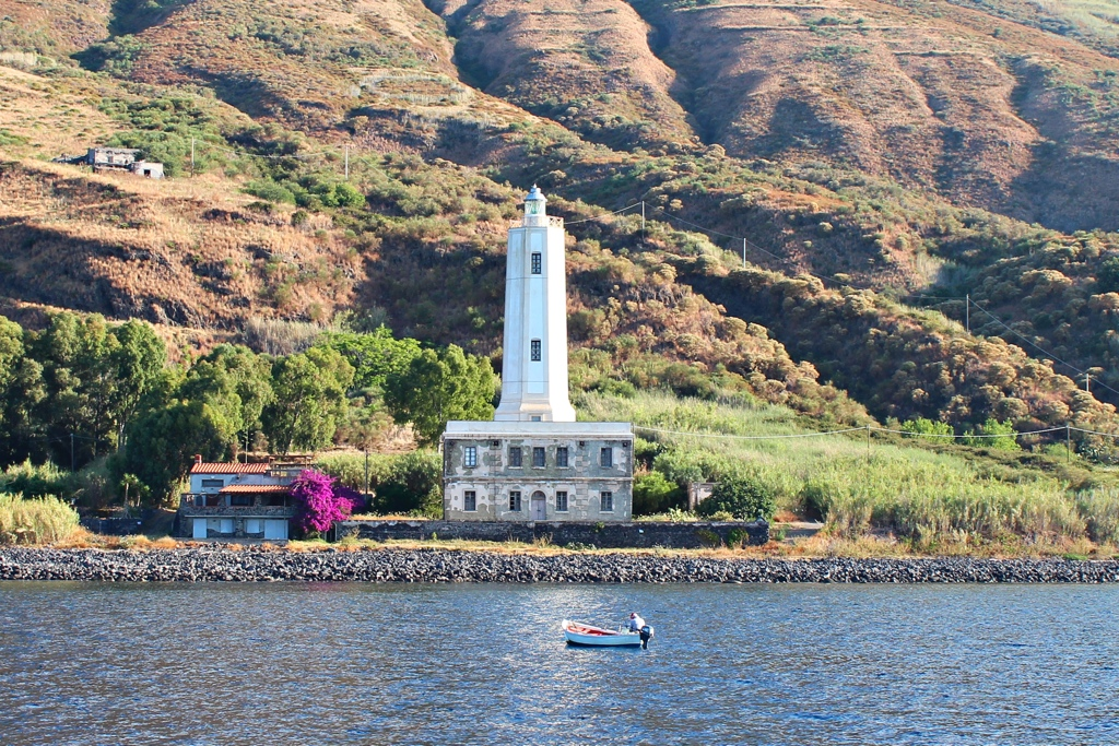Leuchtturm Vulcano Süd