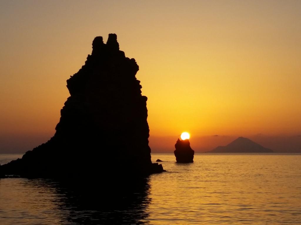 Sunset auf Vulcano