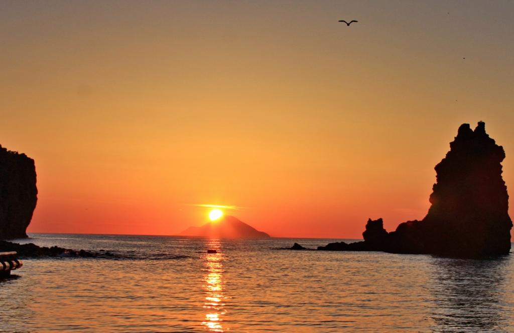 Sunset in Vulcano